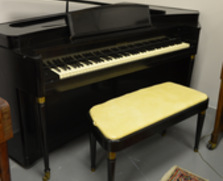Story & Clark Piano with Retro Cabinet