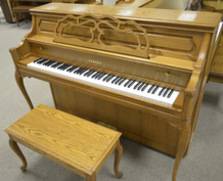 Yamaha M500 Country Manor Console Piano