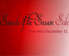 Sounds of the Season Sale