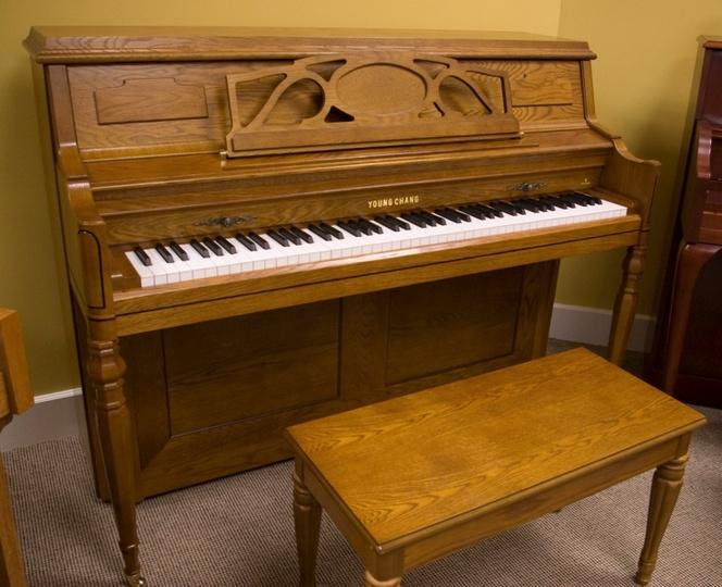 2003 young chang studio piano. Black Bedroom Furniture Sets. Home Design Ideas
