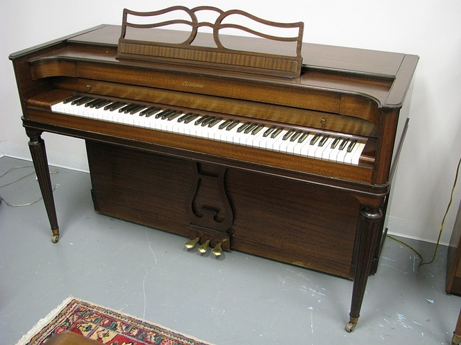 Pin baldwin acrosonic spinet piano dimensions on pinterest for What are the dimensions of an upright piano