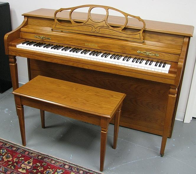 1997 wurlitzer 1175a spinet piano upright dimensions for Piano upright dimensions