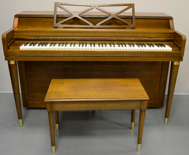 1964 conover spinet for Small upright piano dimensions