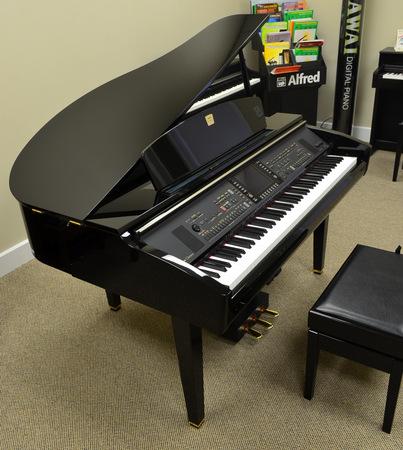 Yamaha clavinova cvp 309 digital baby grand for Yamaha piano baby grand