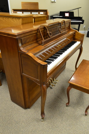 1976 yamaha french provincial console grand pianos mid america piano - Yamaha console piano models ...