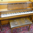 Walnut Console Piano - Upright - Console Pianos