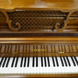 1976 Yamaha French Provincial console - Upright - Console Pianos