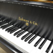 Sohmer satin ebony 5'4 - Grand Pianos