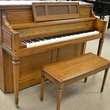1983 Dark oak Yamaha console - Upright - Console Pianos