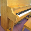 1987 Yamaha P22 studio piano, oak - Upright - Studio Pianos