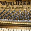 1960 Wurlitzer Spinet Piano - Upright - Spinet Pianos