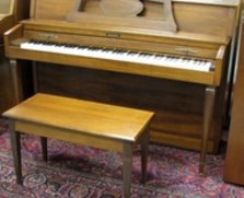 Baldwin Console/Spinet hybrid