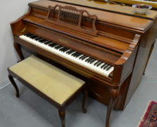 Chickering French Provincial Console Piano