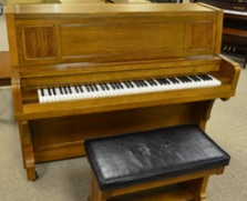 Everett Chapel studio piano