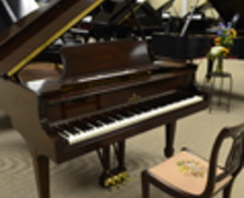 Steinway baby grand & matching chair!