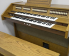 Church organ...great for practicing!