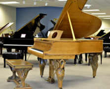 The Swan Steinway. One of a Kind.