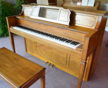 Everett console, pecan. Excellent condition!