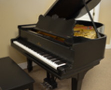 Steinway A2 grand piano