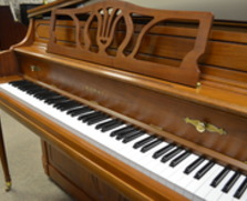 Kawai 803T console piano with Dampp Chaser system