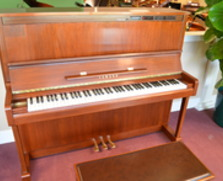 Walnut Yamaha professional upright