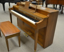 Baldwin Howard spinet, walnut