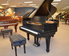 Steinway model O grand. Oh, so sweet!