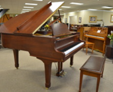 Yamaha grand piano. American walnut