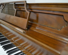 Yamaha walnut console piano