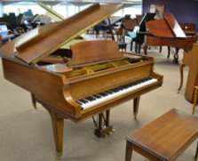Mason & Hamlin walnut model A grand piano