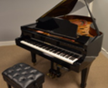 Kawai GS60 grand with PianoDisc player