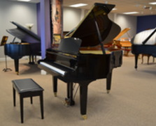 Yamaha GH1 baby grand. Polished ebony