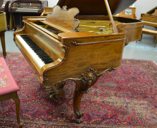 Steinway Louis XV model B grand piano