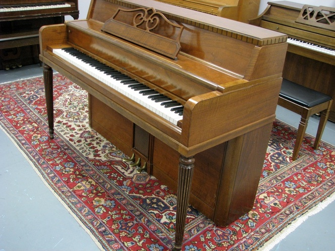 1962 Cable Spinet Piano - Upright - Spinet Pianos