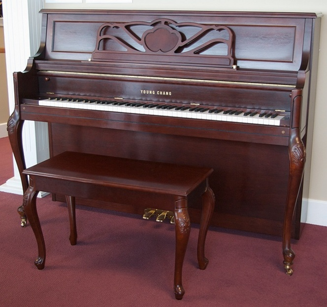 1999 Young Chang Designer Studio - Upright - Studio Pianos
