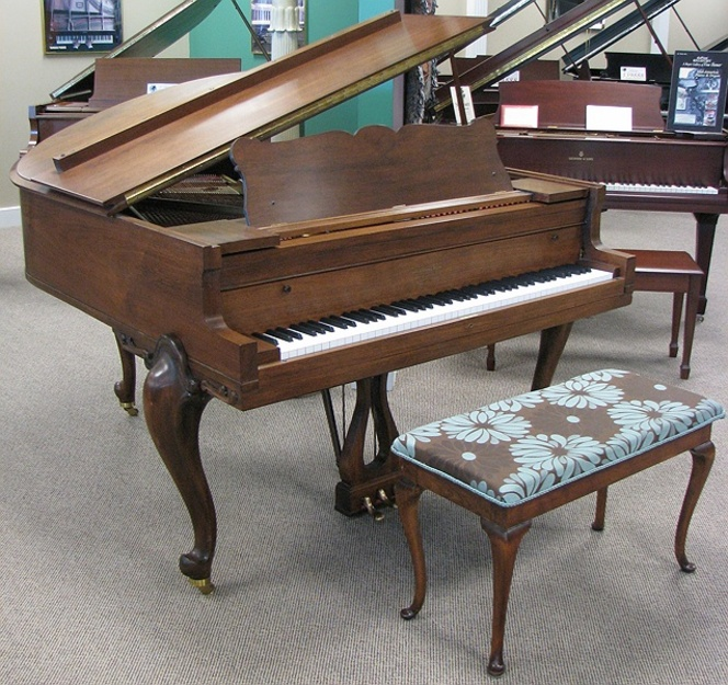 1937 Harrington Grand Piano - Grand Pianos