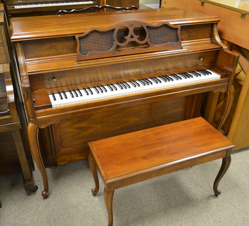 1983 French Provincial Yamaha Console Piano - Upright - Console Pianos