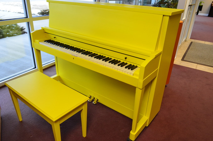 Hello, Sunshine! - Upright - Studio Pianos