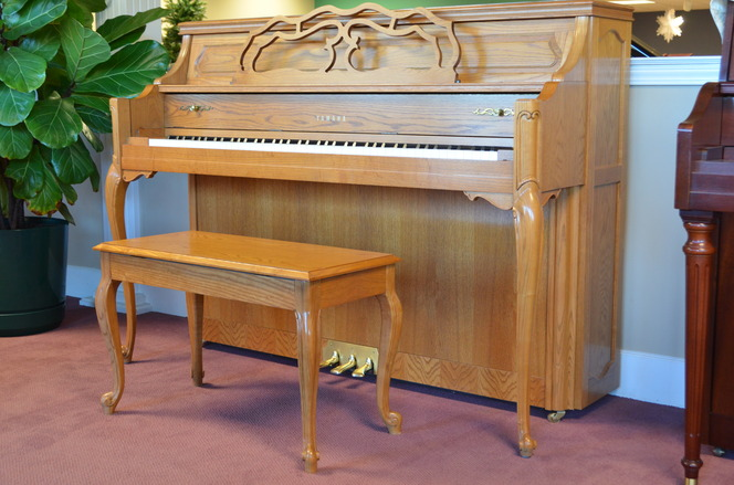 1996 Yamaha M500 Country Manor - Upright - Console Pianos