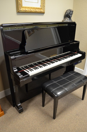 1999 Kawai K80E with PianoDisc player system - Upright - Professional Pianos