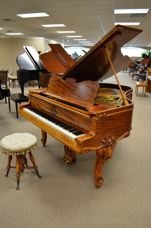 1906 Mehlin & Sons grand - Grand Pianos